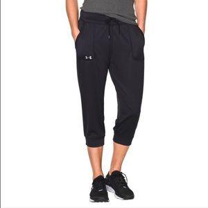 Under Armour | Capri Jogger Silky Workout Pants